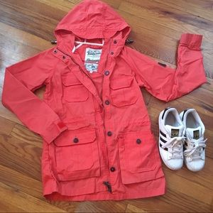 Coral Madewell Utility Jacket